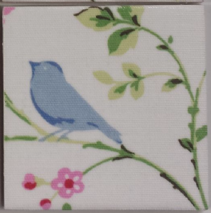Clarke & Clarke Bird Trail Ceramic Wall Tiles Chintz